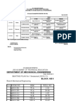 2nd Sessional Schedule Mechanical