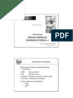 Normas de Qualidade de Software I