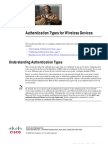 Security Authentication Types