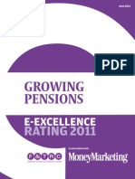 Money Marketing E-Excellence Ratings Growing Pensions