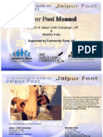 JAIPUR FOOT MANUAL