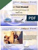 JAIPUR FOOT MANUAL