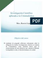 Presentacion criminalistica
