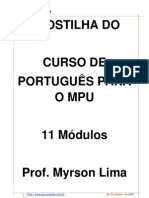 apostila portugues MPU