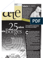 25 años sin Jorge Luis Borges