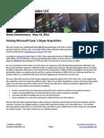 Detailed Scenario Analysis of Microsoft's Acquisition of Skype
