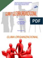 CLIMA ORGANIZACIONAL 1