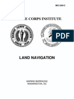 MCI 0381C - Land Navigation