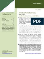 Byron Capital TSX.V:AVC Initiation Report