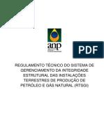 Regulamento Técnico SGI
