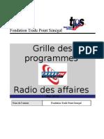Grille de Programme Radio TPS
