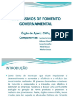 trabalho gestão CNPQ