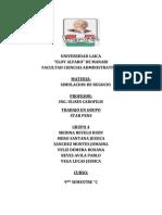 Copia de Informe Simulacion de Negocios Grupo 5