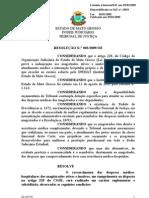 Resolução Nº 03-2009 - Referente à indenização de despesas médicas