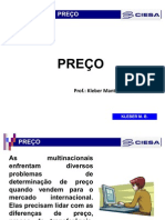 PREÇO - MARKUP
