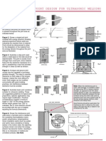Ultrasonic Weld Joint Design 2
