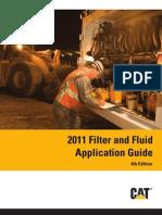 Caterpillar Filter and Fluid Application Guide