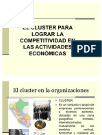 El Cluster Para Lograr Competitividad