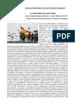 El entorno estratégico moderno de las Fuerzas Armadas