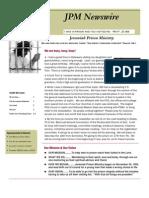 JPM June 2011 Newsletter