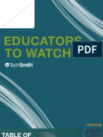 Educators to Watch