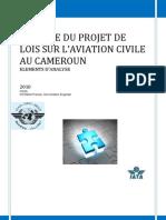 Remarques Relatives au Projet de Loi sur l'aviation civile