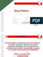 Ética Pública DDHH Prev.Corrupción