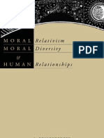 Moral Relativism, Moral Diversity and Human Relationships