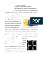 Trigonometry and Earth's Rotations