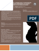 Anticoncepción en adolescentes- Poster de protocolo.