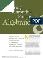 exploring nonroutine functions