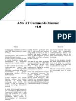 3.5G Modem at Commands Manual