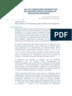 Manual Planeacion Prospectiva UNAM