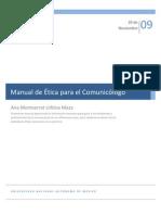 Manual de Ética para el Comunicólogo