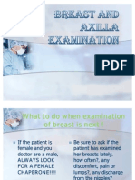 Breast and Axilla Physical Examination