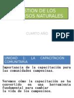 Gestion de Los Recursos Naturales