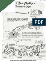 Black Tom Muddye's Treasure Map