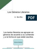 Los 3 Géneros Literarios PPT