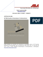 Informativo ABA nº 013/2011 - 15/06/2011