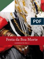 Festa da Boa Morte - cadernoIPAC2