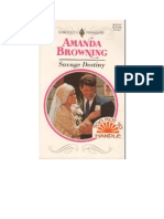 Amanda Browning - Savage Destiny