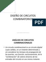 DISEÑO DE CIRCUITOS COMBINATORIOS CLASE 05