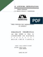 Tres Visiones del Mormonismo en México