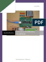 Comunicacion Usb Con El Pic Pic18F4550