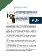 Democracia da bola, justiça do samba