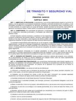 Código de Trânsito Argentino - Ley24449