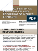 National System on Registration and Reporting of Medical Exposure