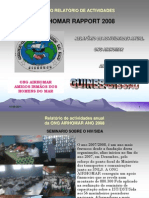 Relatorios Anual Das Actividades Do Airhomar 2008