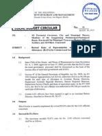 Budget Circular #96 - Revised RATA Rates
