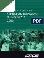 Laporan Tahunan Kehidupan Beragama Di Indonesia 2009(1)